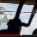 Mid-air refuelling training