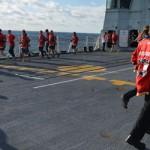 Calgary runs on deck