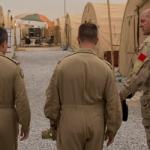 1 CAD Commander in Kuwait