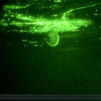 Night mission over Iraq