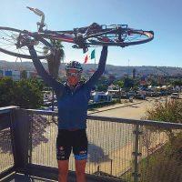 Sailor bikes south for mental health