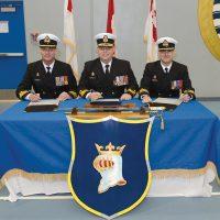 HMCS Protecteur changes leadership one last time
