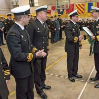 HMCS Toronto receives U.S. Navy Award