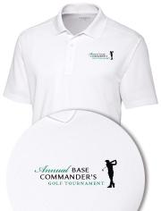 Base Commander's Golf Tournament Custom Shirt