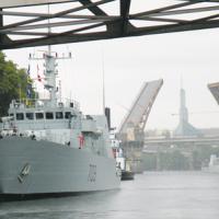 Canadian warships in Oregon