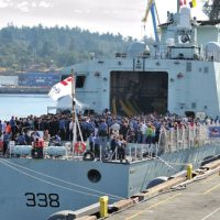 Safe travels HMCS Winnipeg