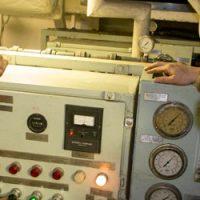 HMCS Moncton at work
