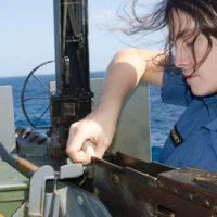 HMCS Summerside at work