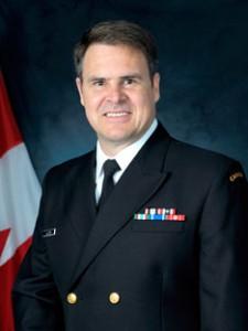 Vice-Admiral M.F.R. Lloyd, Cmm, Cd