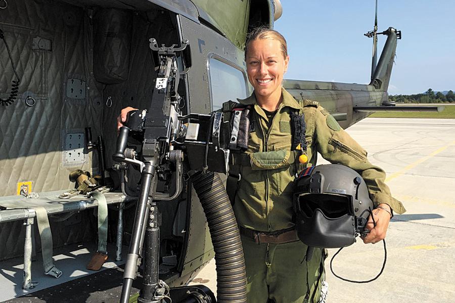 Corporal Alexandra Roy