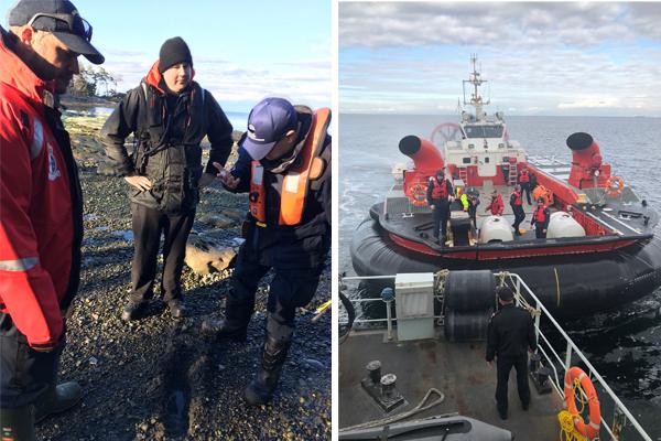 HMCS Calgary Spill Response