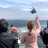 Photos courtesy HMCS Calgary