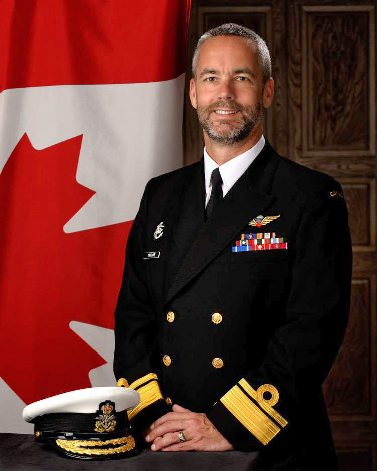 Rear-Admiral Bill Truelove