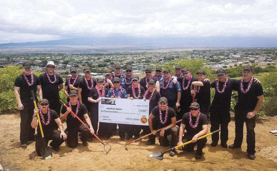 HMCS Ottawa sailors volunteer in Maui