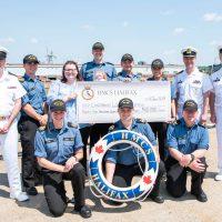 HMCS Halifax breaks record for kids