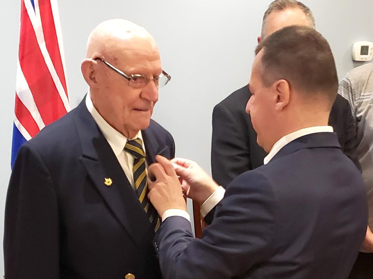 Ron Bath, Legion of Honour
