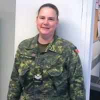 Base Administration's MCpl Kim Draper