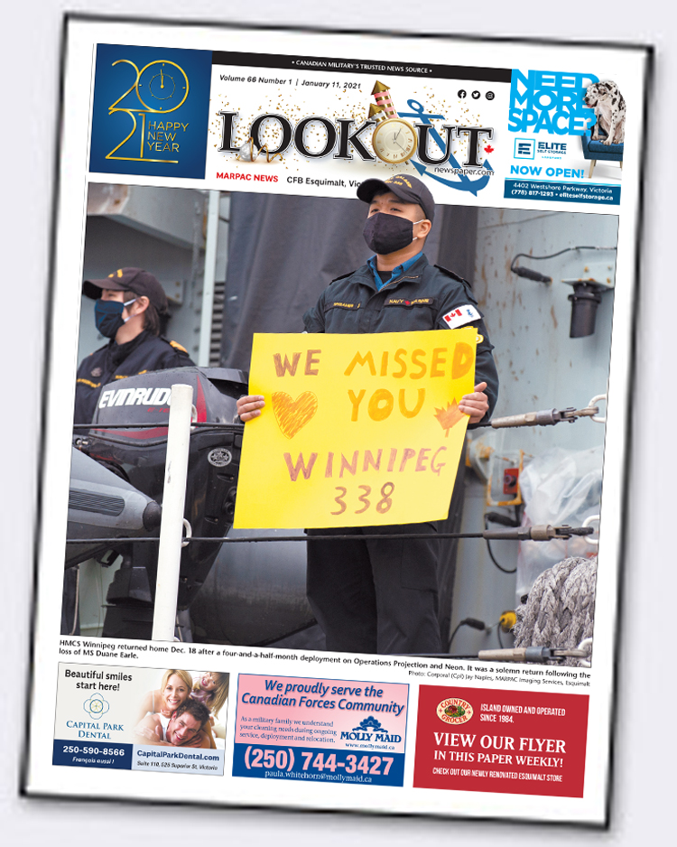 Lookout Newspaper January 11 2021