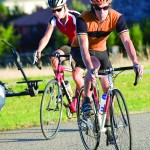 Cycling is a good form of exercise and a social event