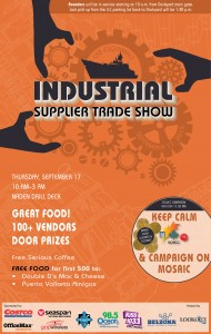 Industrial Trade show poster