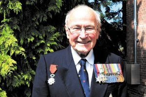 War Veteran Peter Chance added another medal to his collection, the the Ordre national de la Légon d'honneur.