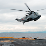 Researchers develop system for safe Sea King landings