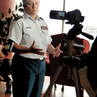 MGen Whitecross leads the way