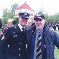 Marching in Holland – a highlight of sailor's career