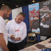 WORX booth at the trade show.