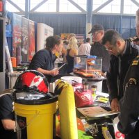 Ono Work Safety booth at the trade show.