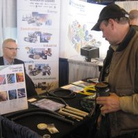 General Cable booth at the trade show.