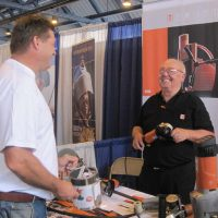 FEIN Power Tool booth at the trade show.