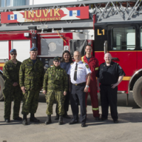 Arctic Fire Station Visit