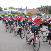 Tour de Rock riders make first-ever stop at CFB Esquimalt