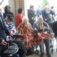 Monument unveiled at veteran's lodge