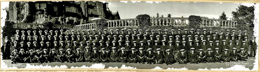 The Class of 1941 at Royal Roads Military College in Colwood included young Royal Canadian Naval Volunteer Reserve Russell McConnell, who died in a German U-Boat attack in 1942 in the St. Lawrence River.