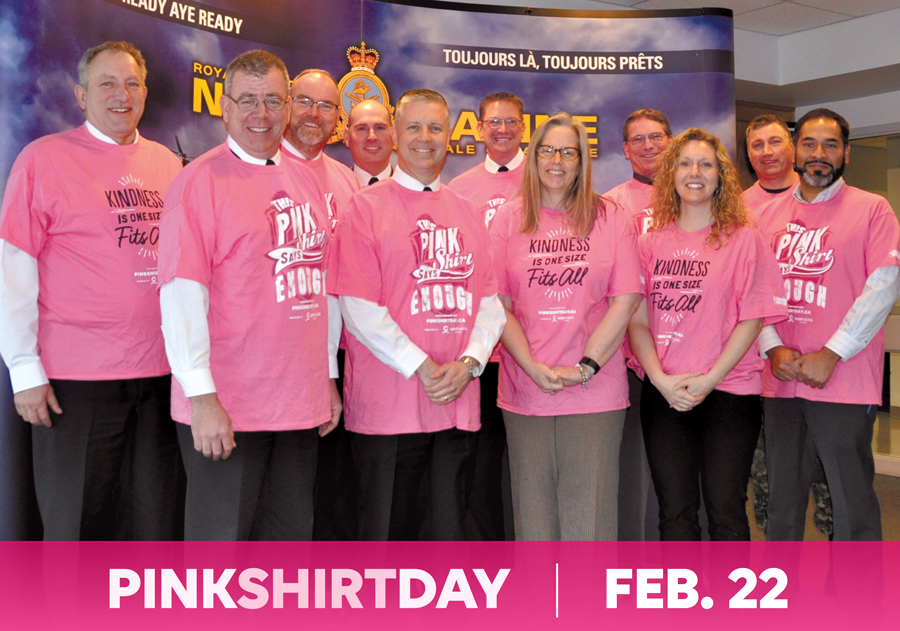 Wear pink on Wednesday to foster compassion