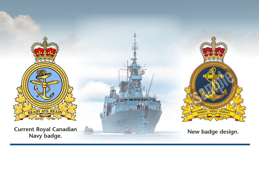Navy command badge re-designedLookout Newspaper