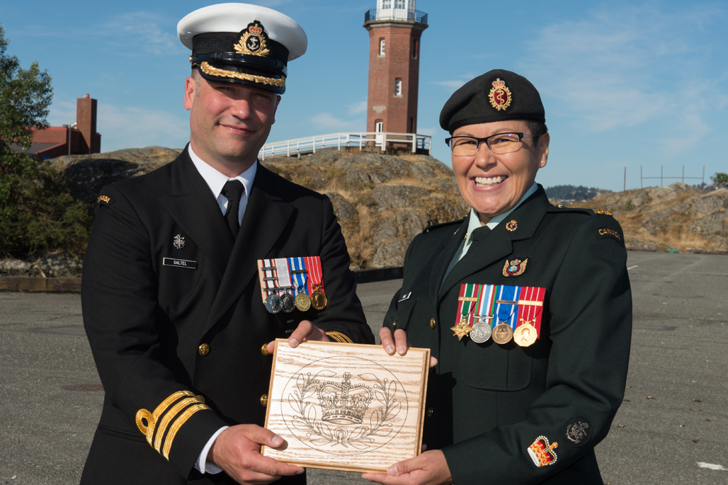 WO Jaime Knox is promoted to her current rank.