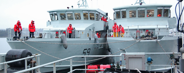 At Sea Experience for Naval Reservists