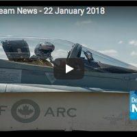Defence Team News – January 22, 2018
