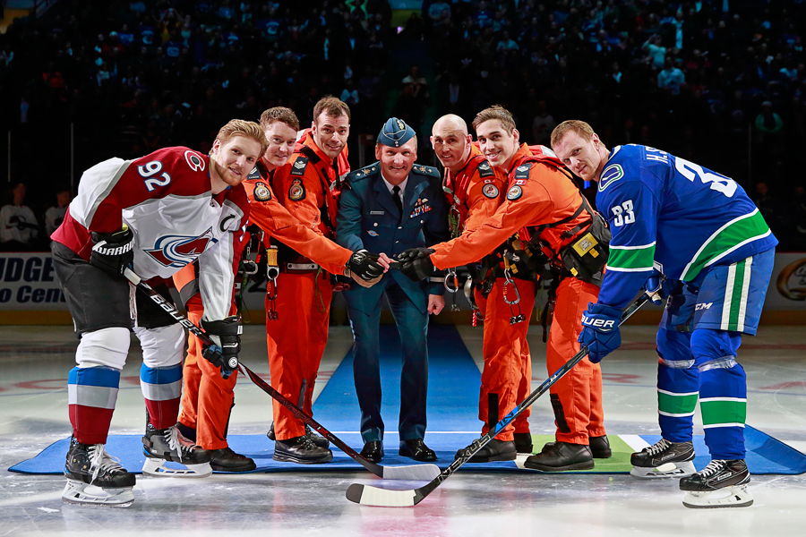 Canucks honour military at gameLookout Newspaper