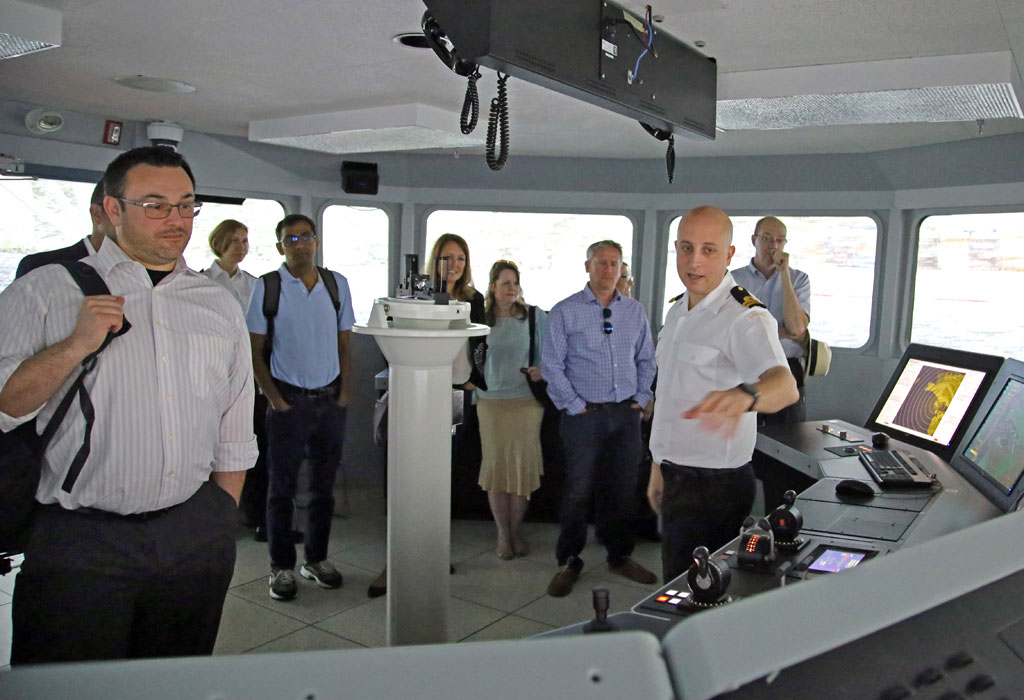 Cyber security specialists investigate navy needs