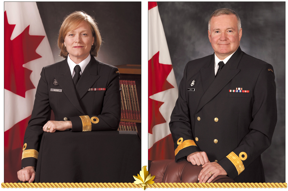 Power couple hand over commands, start new adventures
