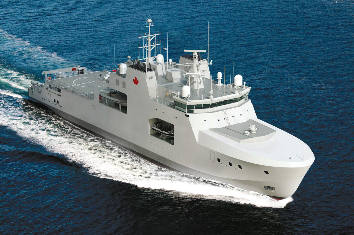 A new organization, Director General Future Ship Capability, will help ensure future ships such as the Arctic Offshore Patrol Vessel will be introduced smoothly into service.