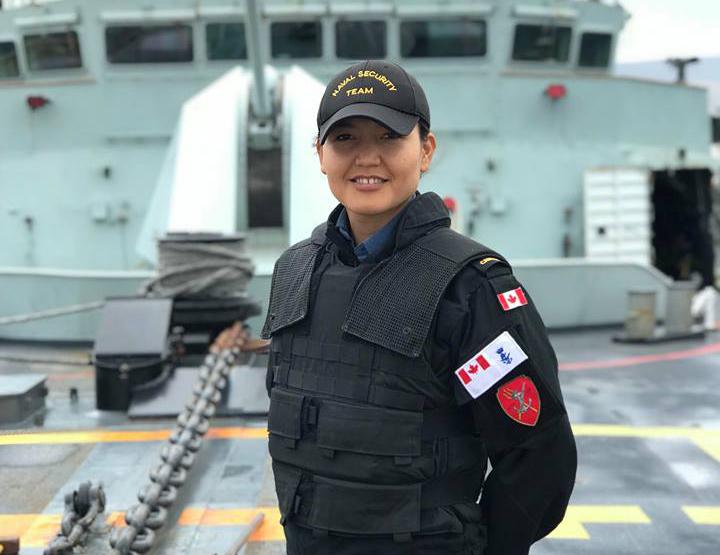 Leading Seaman Mujda Hakime