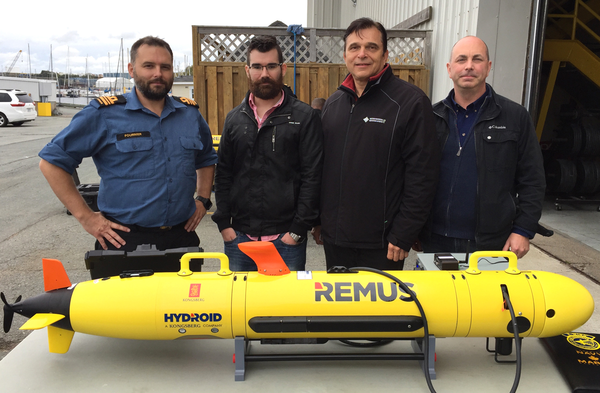 New REMUS 100 for the Royal Canadian Navy