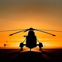 Sea King helicopter, a fond farewell