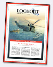 Lookout cover, November 5, 2018