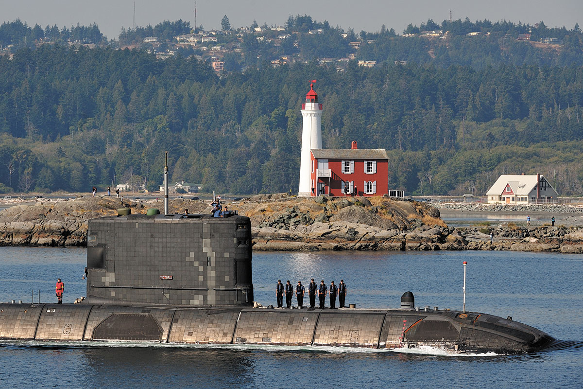 Canadian submarines conduct successful deployments : Pacific Navy News